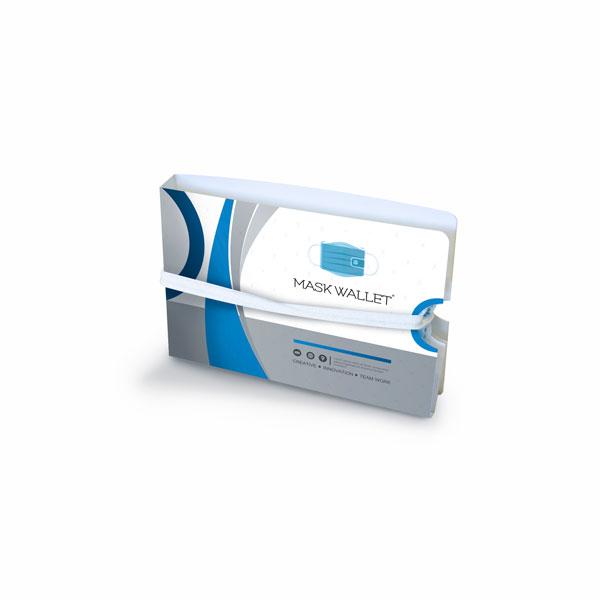 Mask Wallet Safety Travel Kit